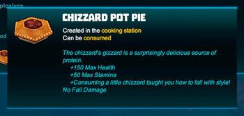 Bubble tip-Pie-Chizzard pot pie-R50