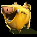 Pigsy happy