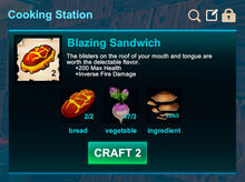 Cooking station-Sandwich-Blazing sandwich-R50