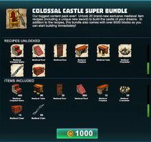 Creativerse Colossal Castle super bundle R41 03