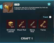 Creativerse Bed crafting R39