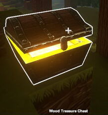 Creativerse Wood Chest with bloom