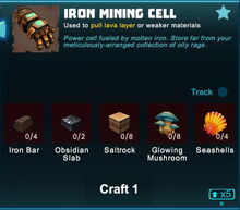 Creativerse iron mining cell 2019-04-29 21-07-33-3207 crafting mining cell