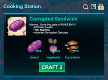 Cooking station-Sandwich-Corrupted sandwich-R50