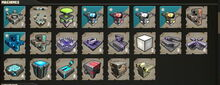Creativerse R33 Machines overview with gates and LED and new beacons01
