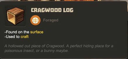 Creativerse R27 tooltips wood logs0701