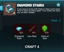 Creativerse crafting recipes R41,5 stairs04