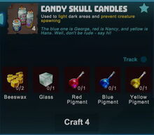 Creativerse candy skull candles crafting recipe 2017-11-01 20-57-23-09