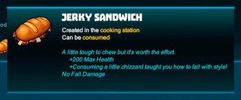 Bubble tip-Sandwich-Jerky sandwich-R50