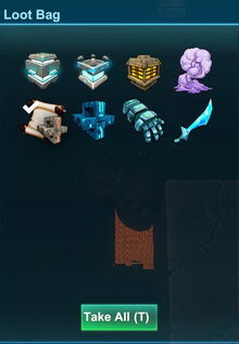Creativerse diamond sword thing loot 2018-09-28 17-56-40-92