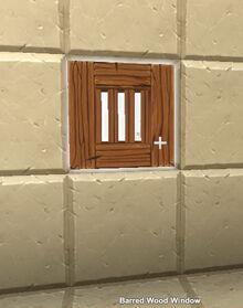 Creativerse Barred Window67