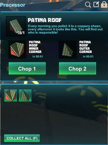 Creativerse R41,5 processing corners for roofs 515
