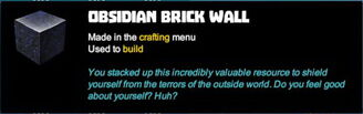 Creativerse tooltips R40 058 obsidian blocks crafted