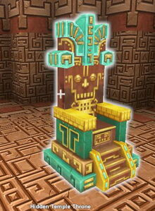 Creativerse X hidden temple throne553