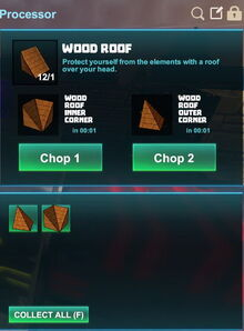 Creativerse R41,5 processing corners for roofs 500