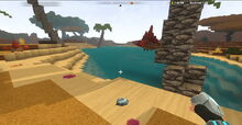 Creativerse Seashells at pond in Savannah110