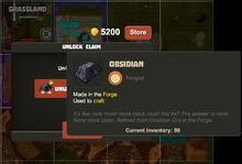 Creativerse R33 buy claim Obsidian current inventory001