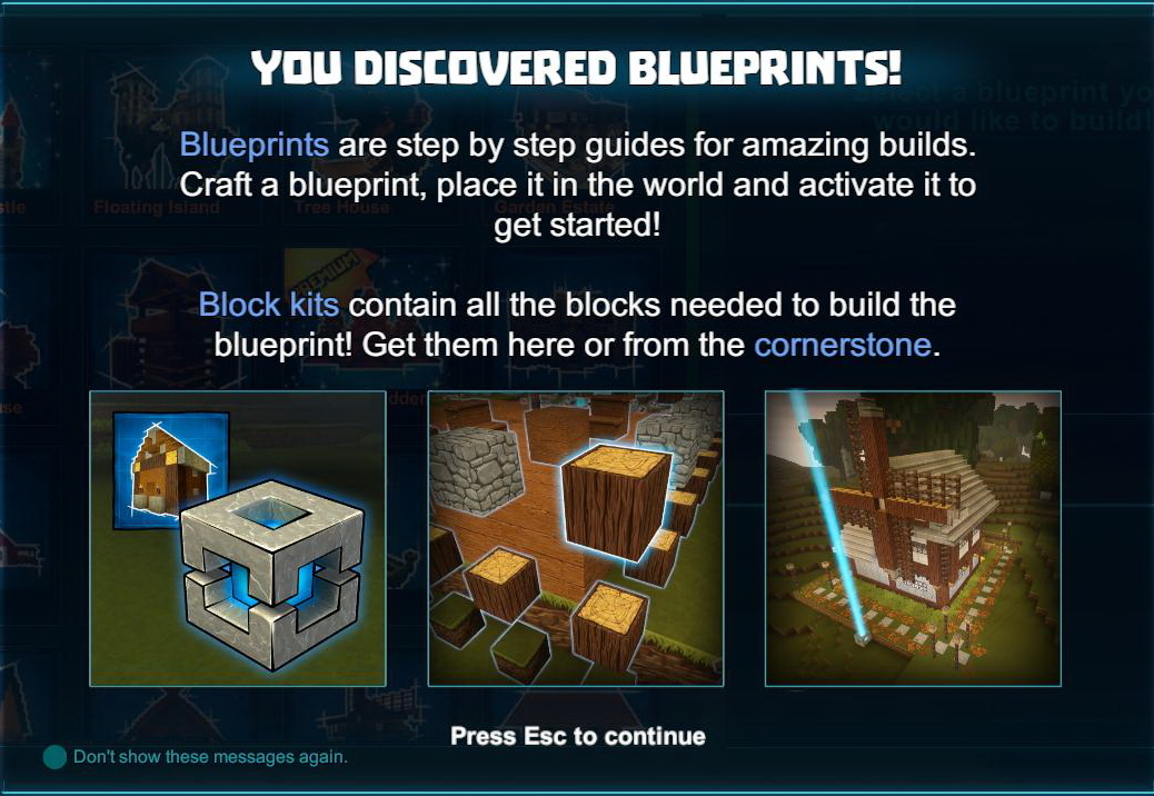 Blueprint creativerse wiki fandom powered by wikia creativerse update preview the blueprint revolution malvernweather Gallery