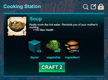 Cooking station-Soup-Soup-R50
