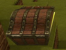 Creativerse all chests open to the north, seen best from south