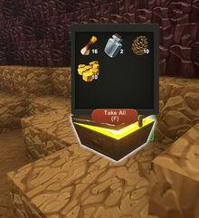 Creativerse wood treasure chest R25 2511