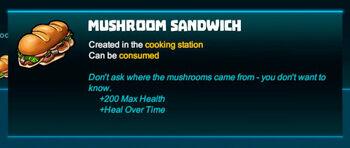 Bubble tip-Sandwich-Mushroom sandwich-R50