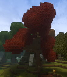 Creativerse Cinnamon Autumnwood tree0101