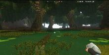 Creativerse Swamplands weepwood log mossy leafi1010