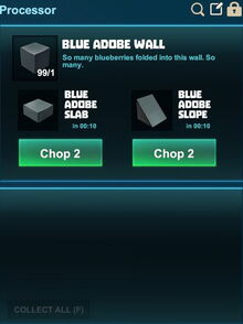 Creativerse processing slopes blue adobe