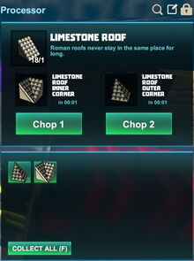 Creativerse R41,5 processing corners for roofs 503