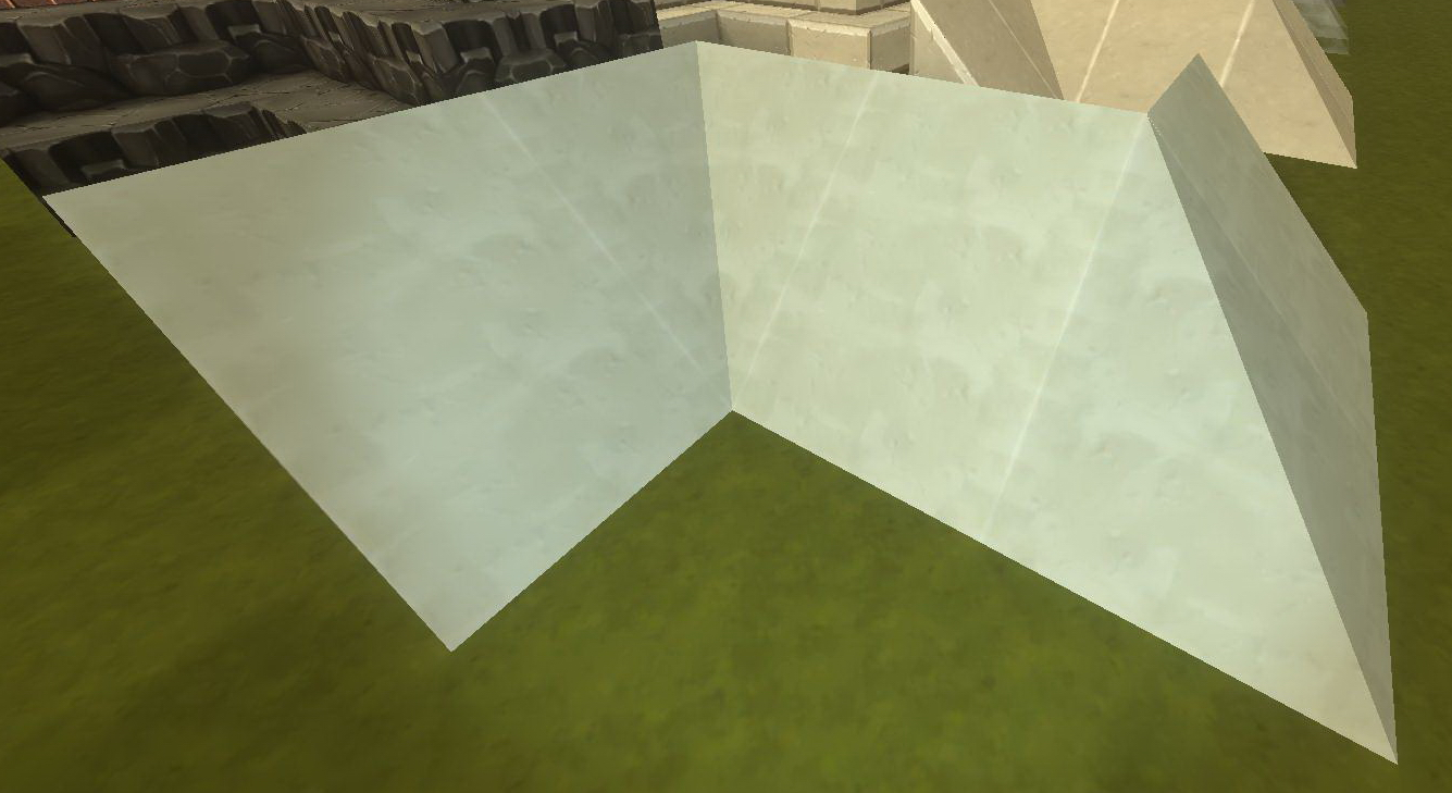 White Clay Slope Outer Corner Creativerse Wiki Fandom