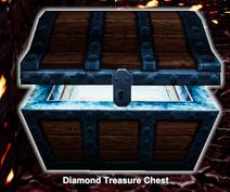 Diamond treasure chest
