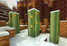 Creativerse cactus flower with snow on top 2018-07-02 14-20-30-21