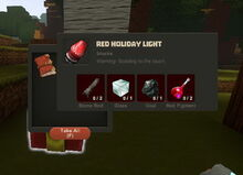 Creativerse Red Holiday Light65