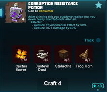 Creativerse corruption resistance potion crafting 2019-06-15 14-34-06-61