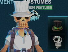 Creativerse pumpkiru's top hat white 2017-11-02 15-33-42-09