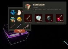 Creativerse Red Beacon Diamond Chest4884