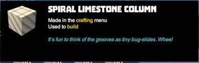 Creativerse tooltips R40 089 limestone blocks crafted