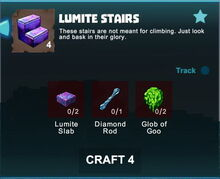 Creativerse crafting recipes R41,5 stairs03