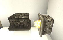 Creativerse R33 Fire Pit on off 001