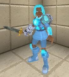 Creativerse sword holding 99