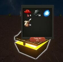 Creativerse wood treasure chest R25 2507
