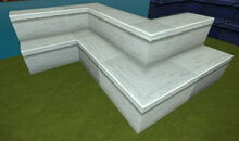 Creativerse R41,5 stairs with inner and outer corners 150