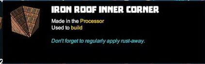 Creativerse R41,5 tooltips corners for roofs 510