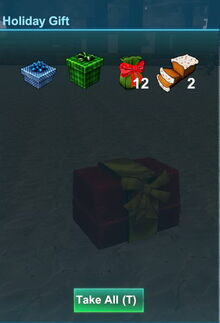 Creativerse blue and green gift 2017-12-21 16-50-46-82 holiday gift