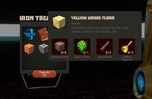 Creativerse Yellow Adobe Floor Iron Chest33