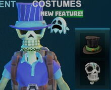 Creativerse pumpkiru's top hat blue 2017-11-02 15-13-56-06