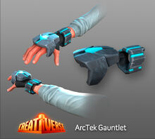 Creativerse Artwork ArcTek Gauntlet001