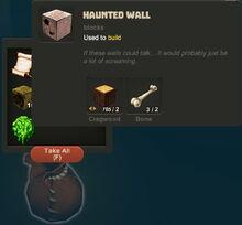 Creativerse Halloween finds047 Haunted Wall