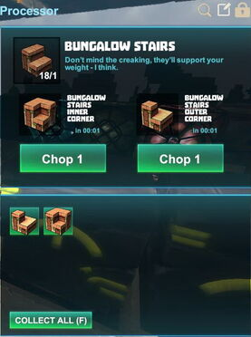 Creativerse R41,5 processing corners for stairs 522